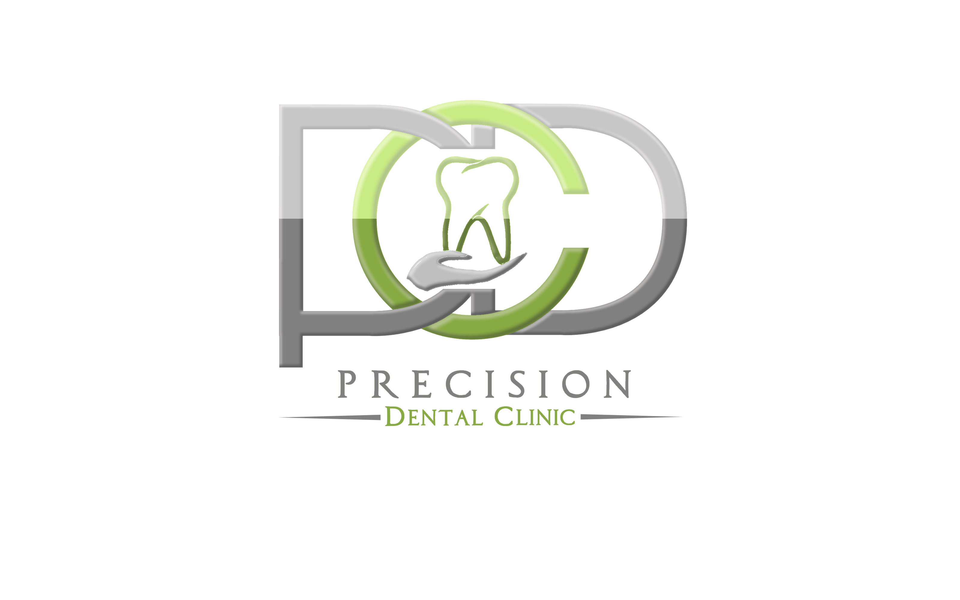 Logo Design by Roberto Bassi - Entry No. 131 in the Logo Design Contest Captivating Logo Design for Precision Dental Clinic.