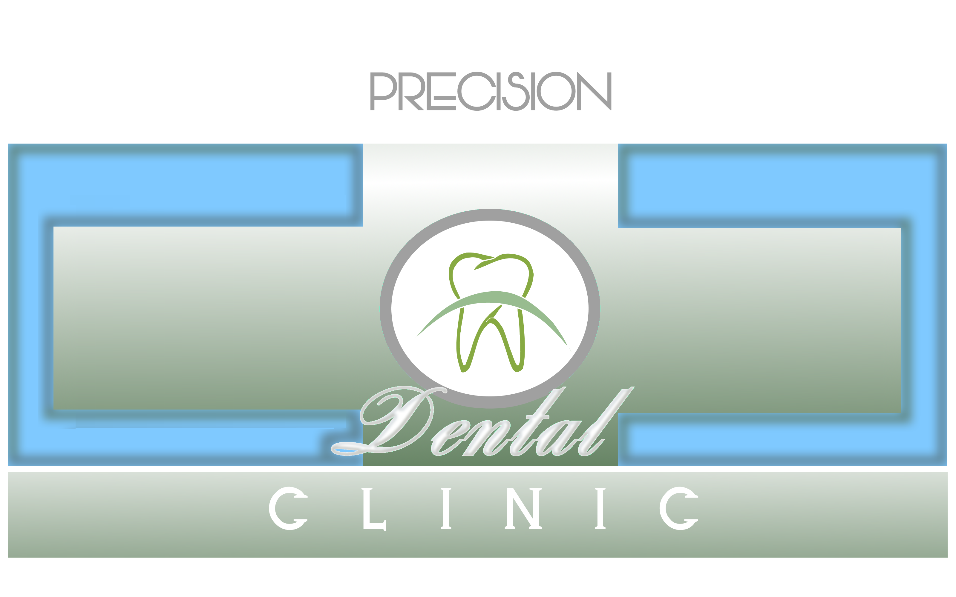 Logo Design by Roberto Bassi - Entry No. 135 in the Logo Design Contest Captivating Logo Design for Precision Dental Clinic.