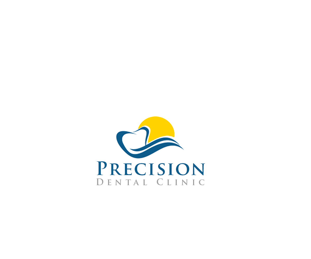 Logo Design by Private User - Entry No. 145 in the Logo Design Contest Captivating Logo Design for Precision Dental Clinic.
