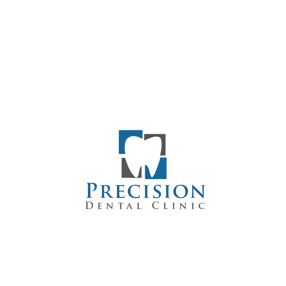 Logo Design by Private User - Entry No. 147 in the Logo Design Contest Captivating Logo Design for Precision Dental Clinic.