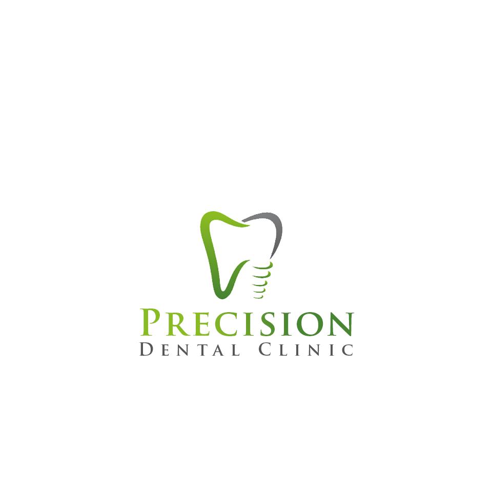 Logo Design by Private User - Entry No. 150 in the Logo Design Contest Captivating Logo Design for Precision Dental Clinic.