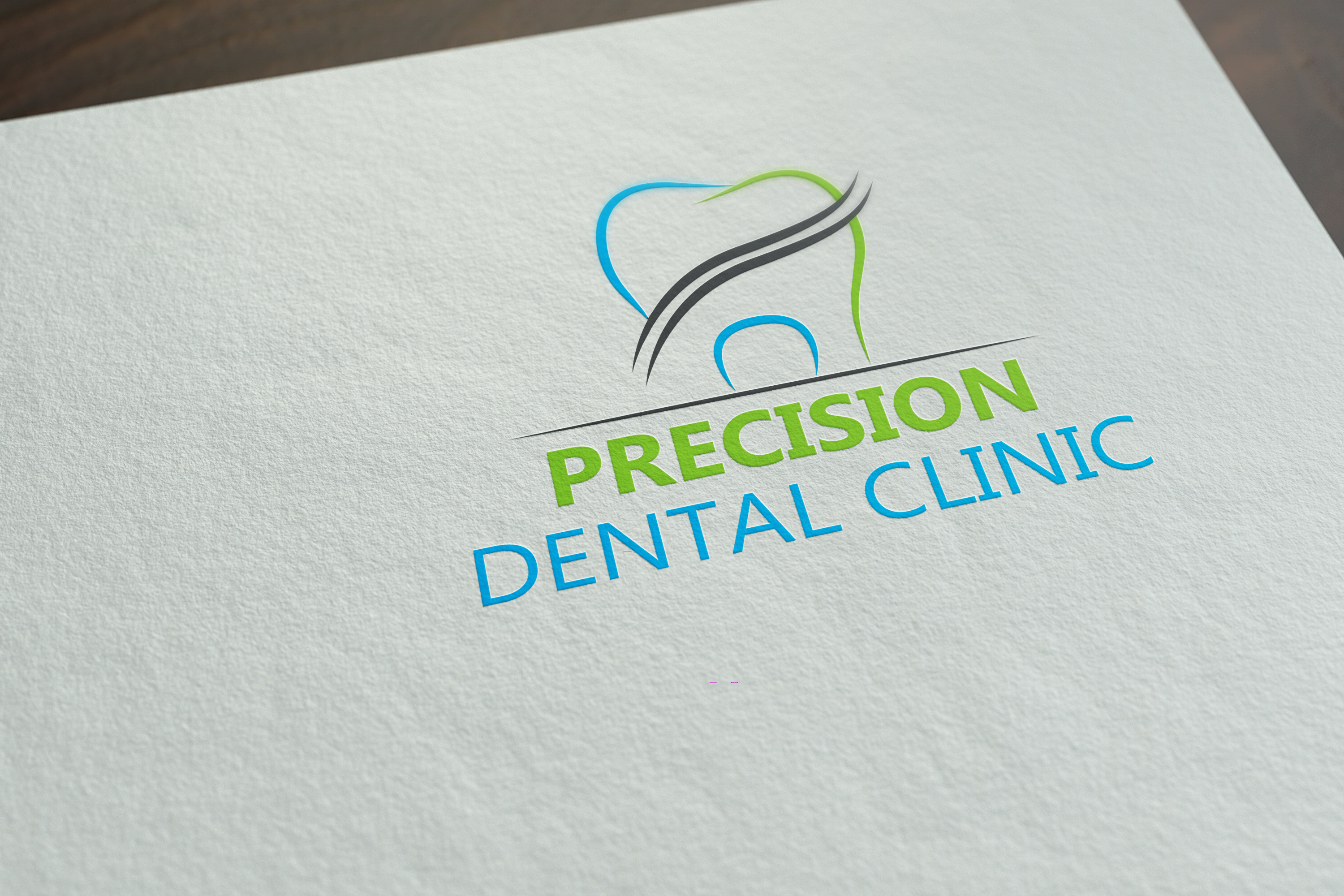 Logo Design by Arafat Hassan - Entry No. 155 in the Logo Design Contest Captivating Logo Design for Precision Dental Clinic.