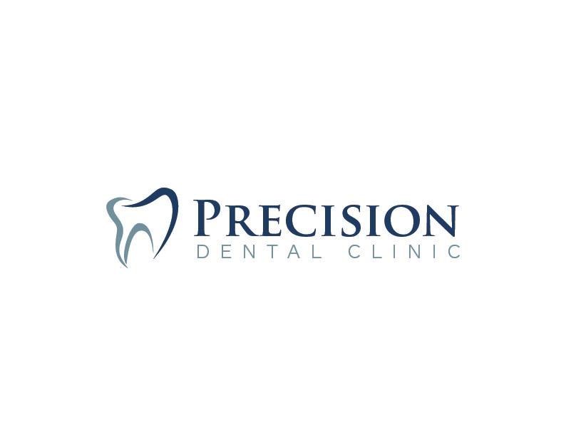 Logo Design by roc - Entry No. 157 in the Logo Design Contest Captivating Logo Design for Precision Dental Clinic.
