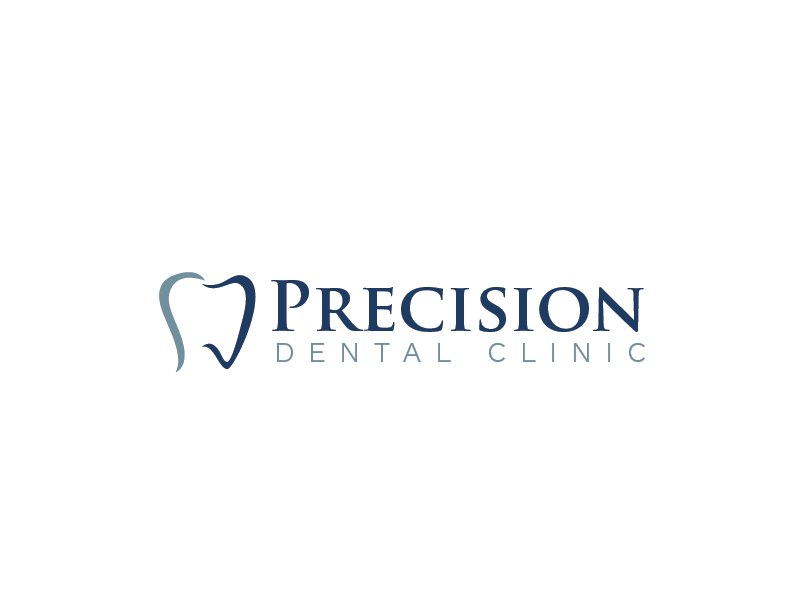 Logo Design by roc - Entry No. 158 in the Logo Design Contest Captivating Logo Design for Precision Dental Clinic.