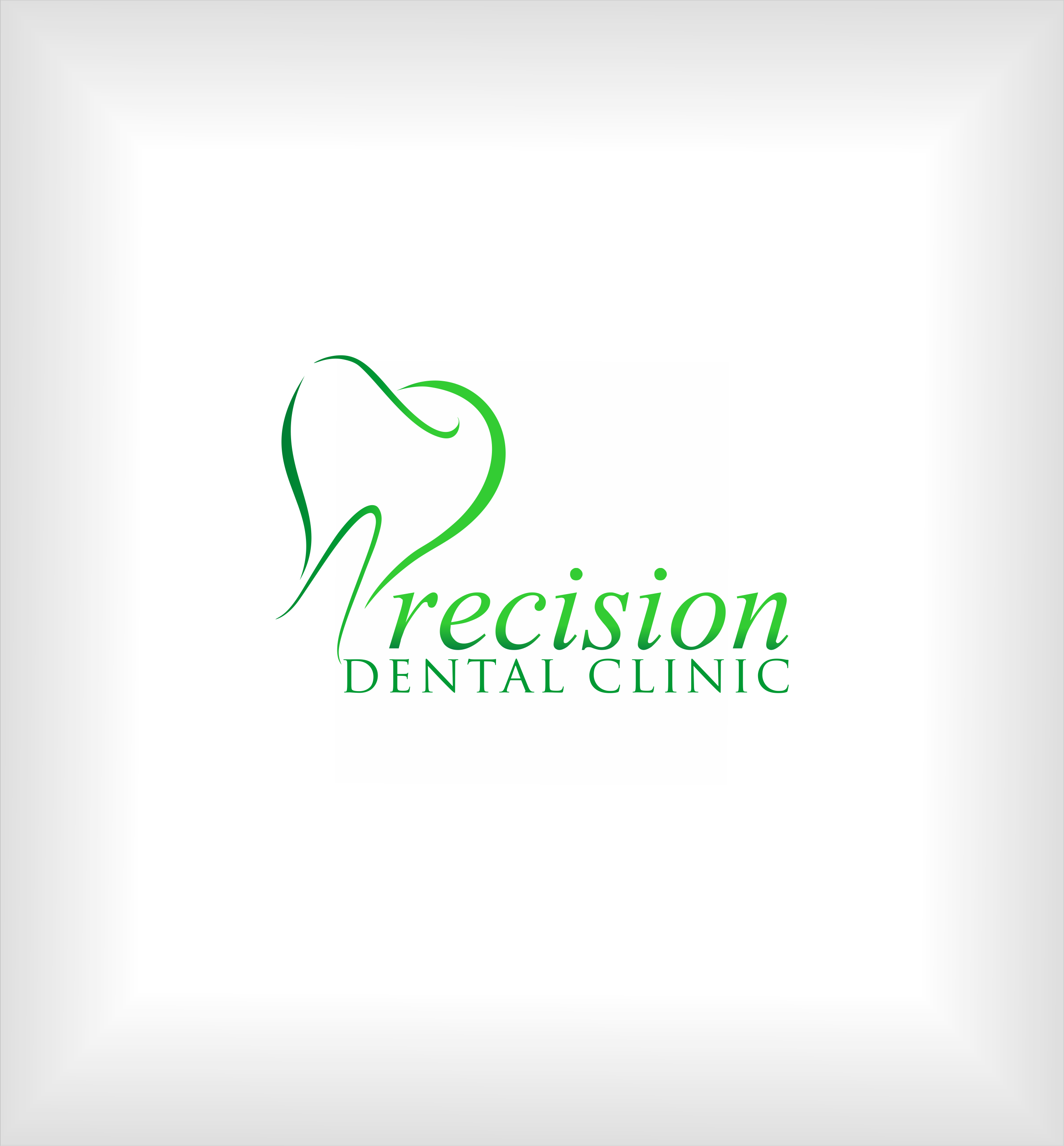 Logo Design by snow - Entry No. 161 in the Logo Design Contest Captivating Logo Design for Precision Dental Clinic.