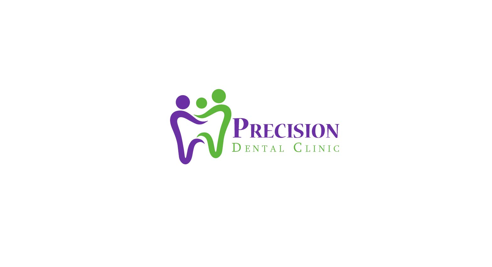 Logo Design by Muazzama Memon - Entry No. 162 in the Logo Design Contest Captivating Logo Design for Precision Dental Clinic.