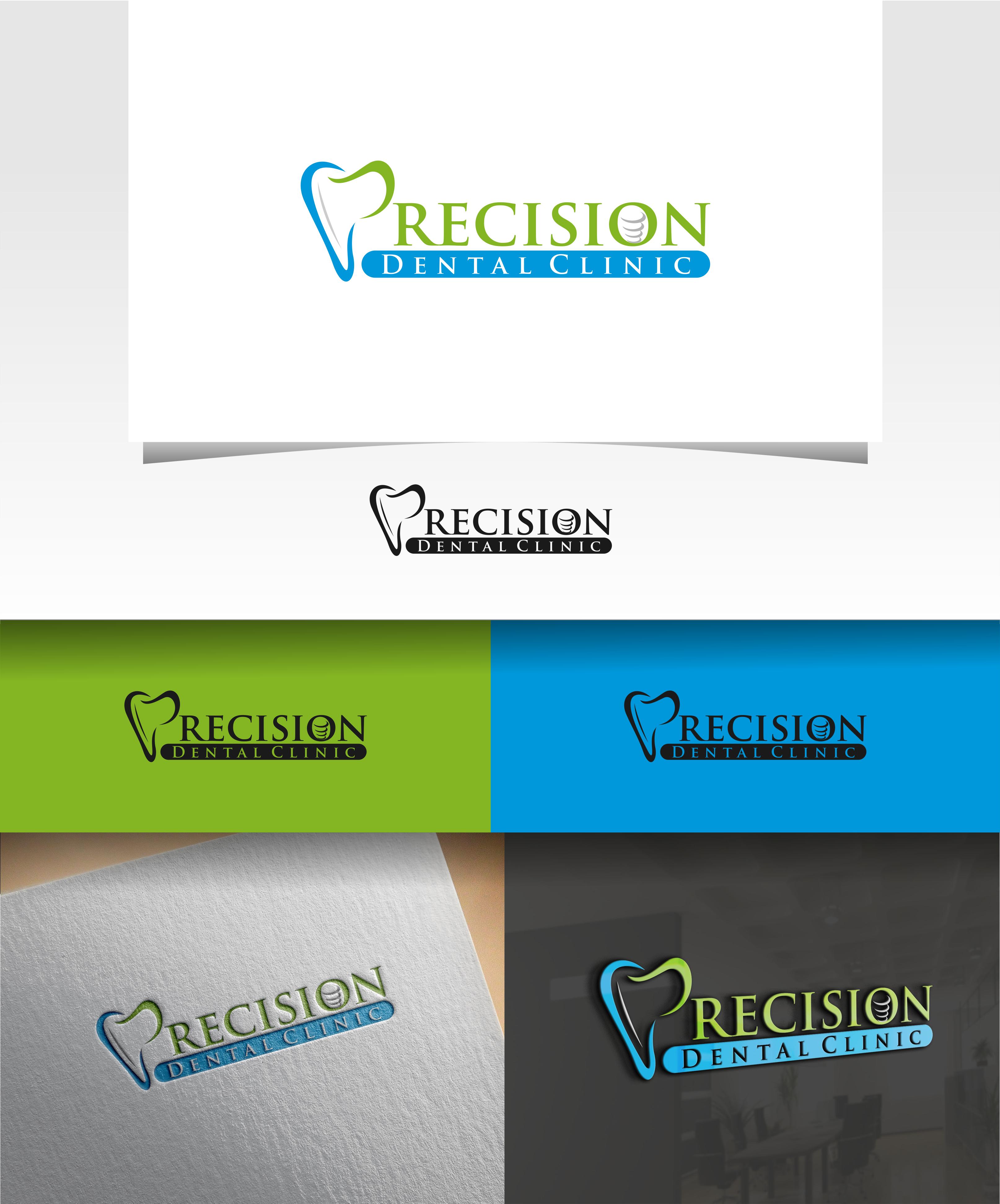 Logo Design by Raymond Garcia - Entry No. 168 in the Logo Design Contest Captivating Logo Design for Precision Dental Clinic.