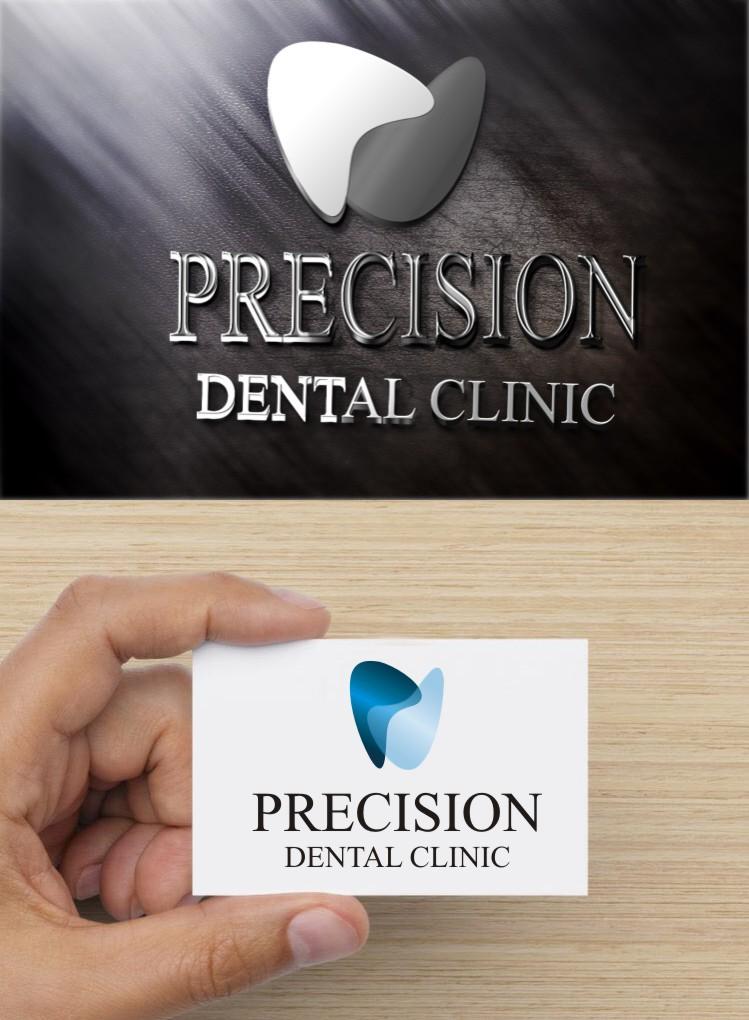 Logo Design by gryphon - Entry No. 175 in the Logo Design Contest Captivating Logo Design for Precision Dental Clinic.