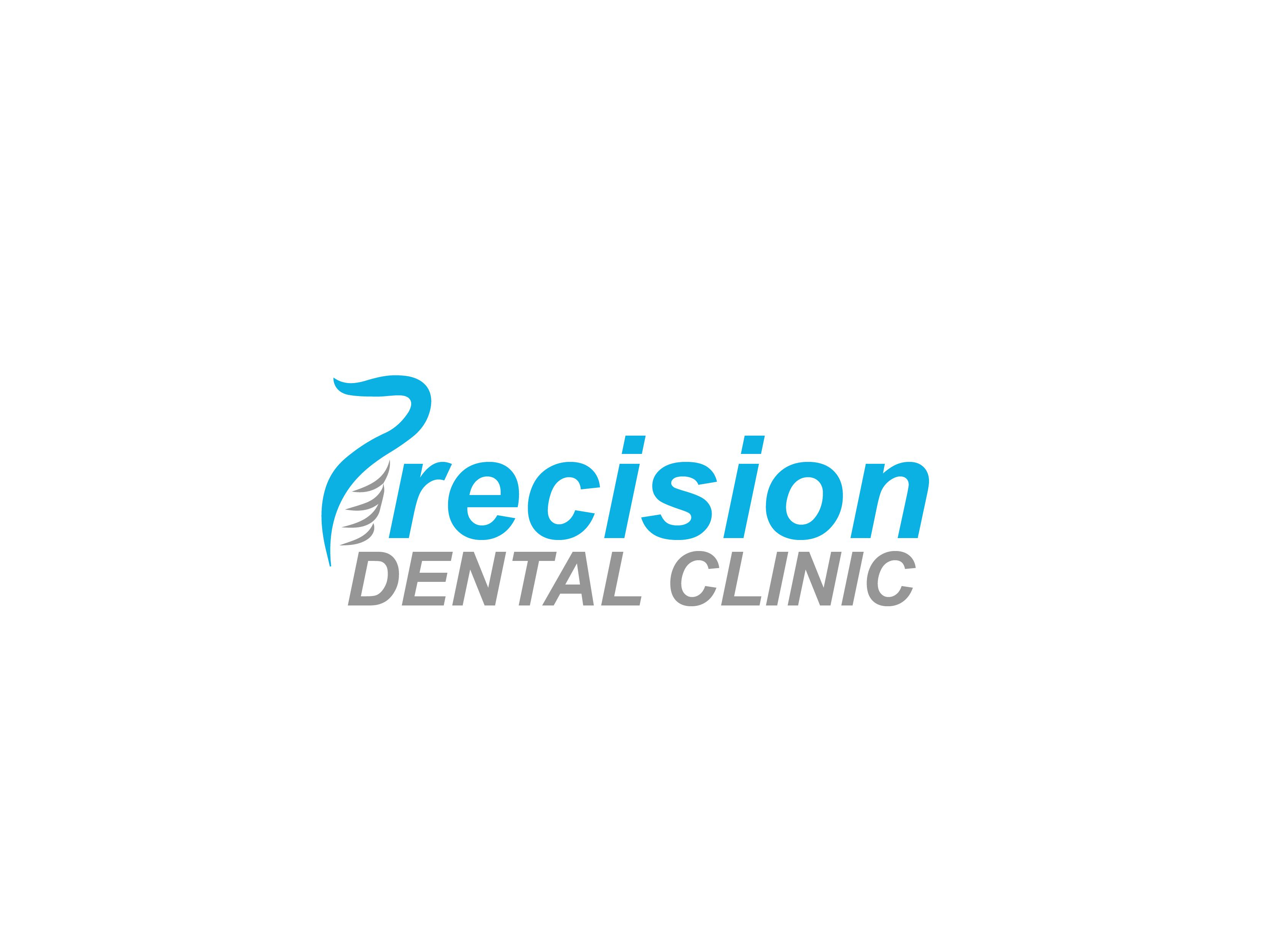 Logo Design by Private User - Entry No. 176 in the Logo Design Contest Captivating Logo Design for Precision Dental Clinic.