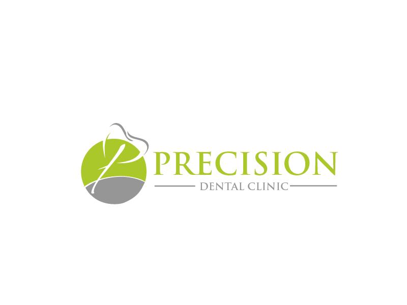 Logo Design by Private User - Entry No. 177 in the Logo Design Contest Captivating Logo Design for Precision Dental Clinic.