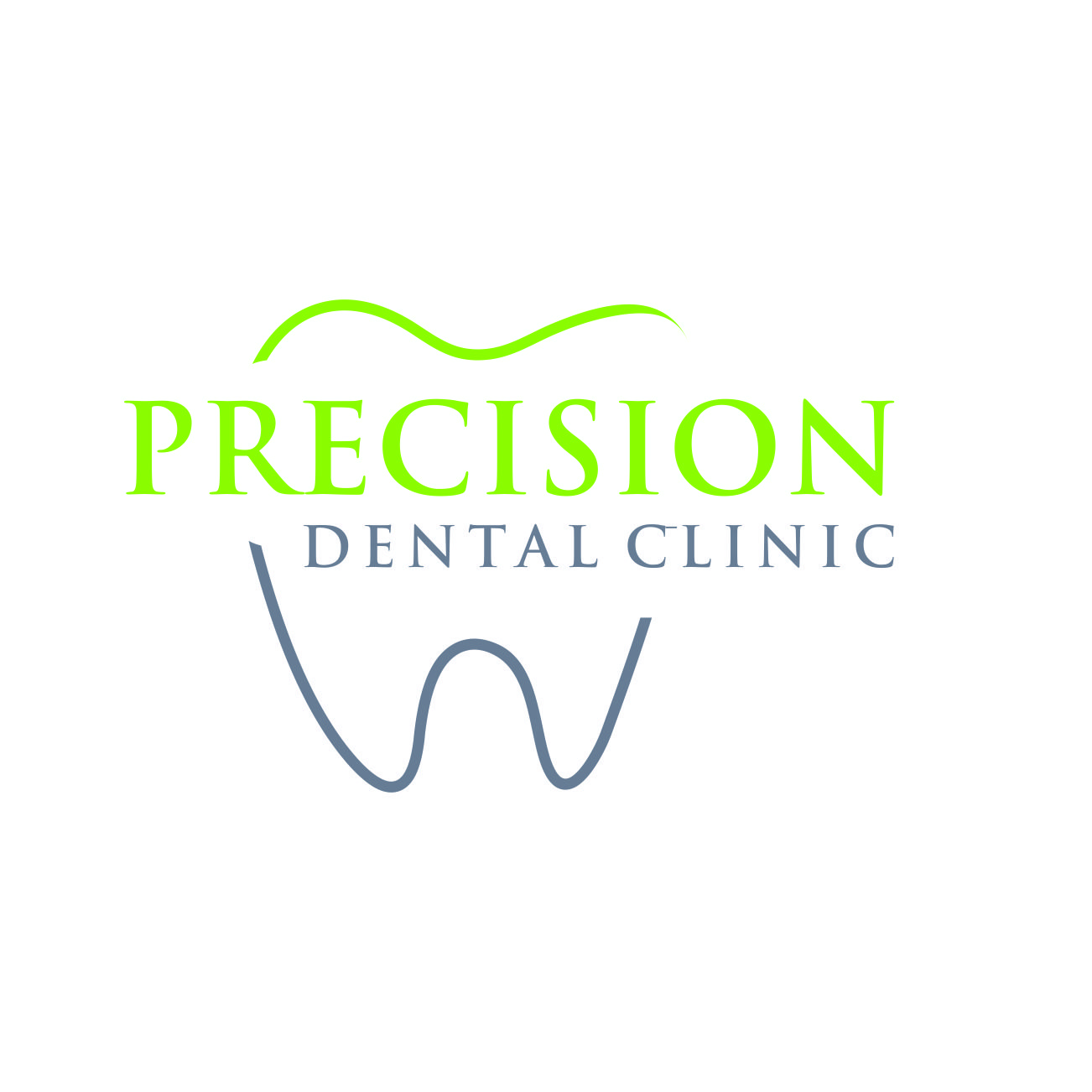Logo Design by RasYa Muhammad Athaya - Entry No. 181 in the Logo Design Contest Captivating Logo Design for Precision Dental Clinic.