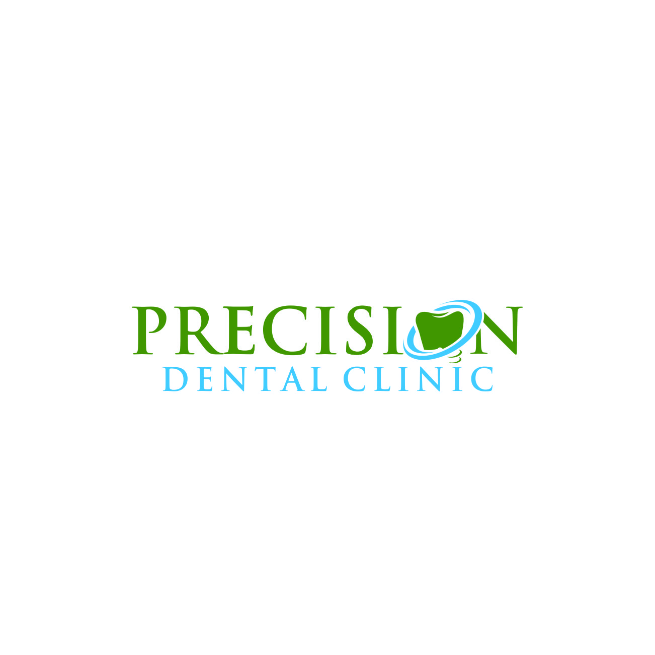Logo Design by RasYa Muhammad Athaya - Entry No. 184 in the Logo Design Contest Captivating Logo Design for Precision Dental Clinic.