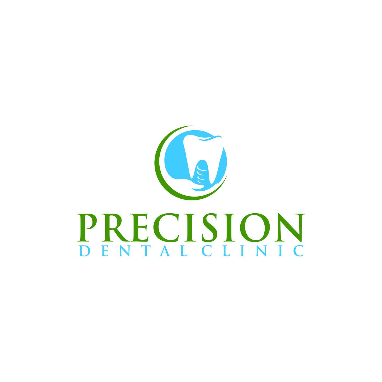 Logo Design by RasYa Muhammad Athaya - Entry No. 185 in the Logo Design Contest Captivating Logo Design for Precision Dental Clinic.