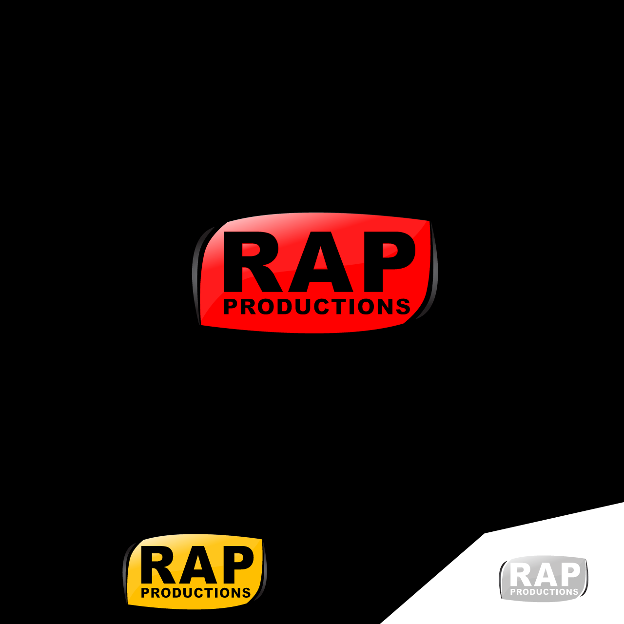 Logo Design by umxca - Entry No. 75 in the Logo Design Contest R.A.P Productions.