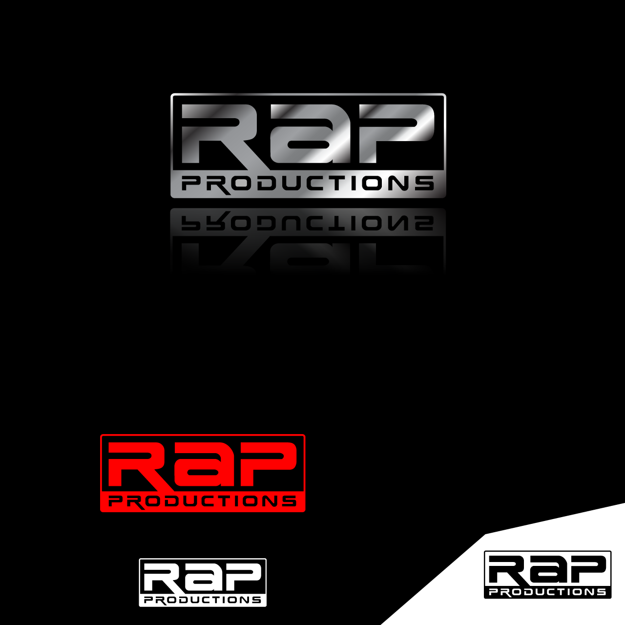 Logo Design by umxca - Entry No. 80 in the Logo Design Contest R.A.P Productions.