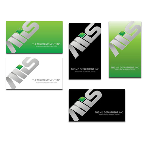 Business Card Design by Ricky Frutos - Entry No. 7 in the Business Card Design Contest MIS Stationary.