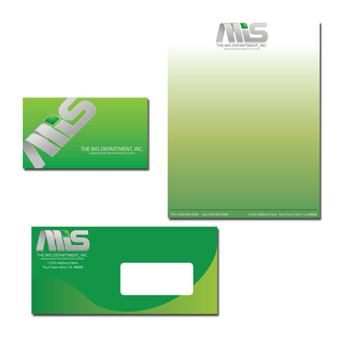 Business Card Design by Ricky Frutos - Entry No. 10 in the Business Card Design Contest MIS Stationary.