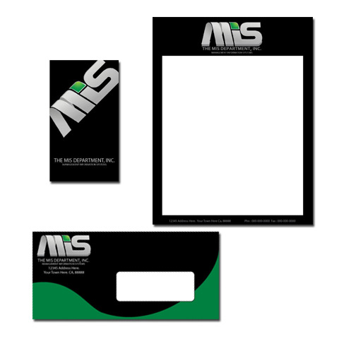 Business Card Design by Ricky Frutos - Entry No. 12 in the Business Card Design Contest MIS Stationary.