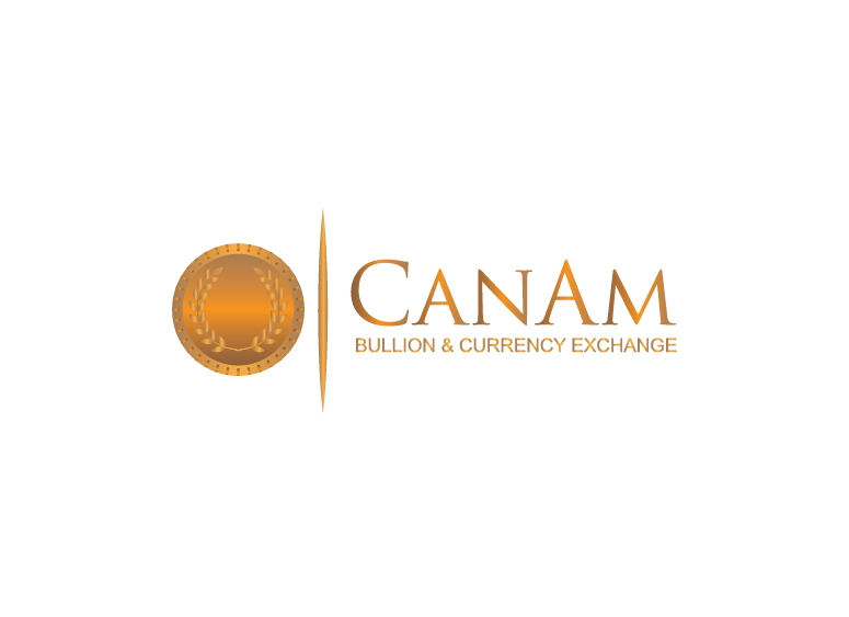 Logo Design by Shahnawaz Ahmed - Entry No. 19 in the Logo Design Contest Artistic Logo Design for CanAm Bullion & Currency Exchange (CBCE).
