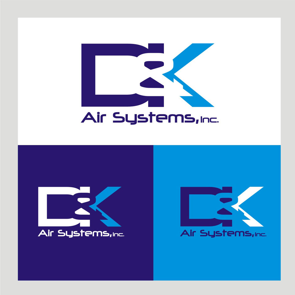 Logo Design by Heru budi Santoso - Entry No. 3 in the Logo Design Contest D&K Air Systems, Inc..