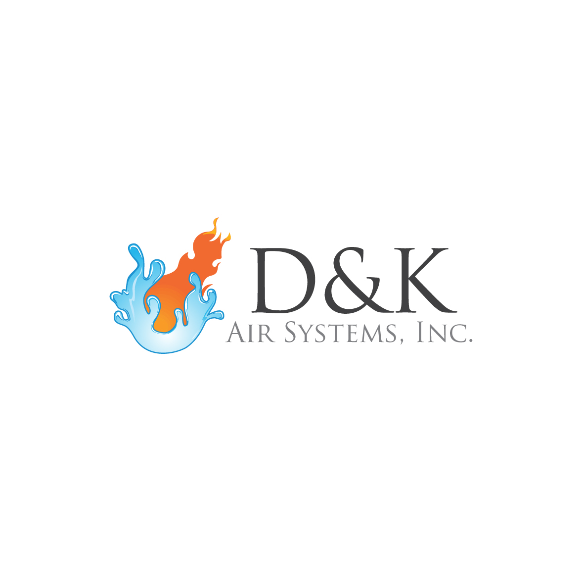 Logo Design by ex - Entry No. 12 in the Logo Design Contest D&K Air Systems, Inc..