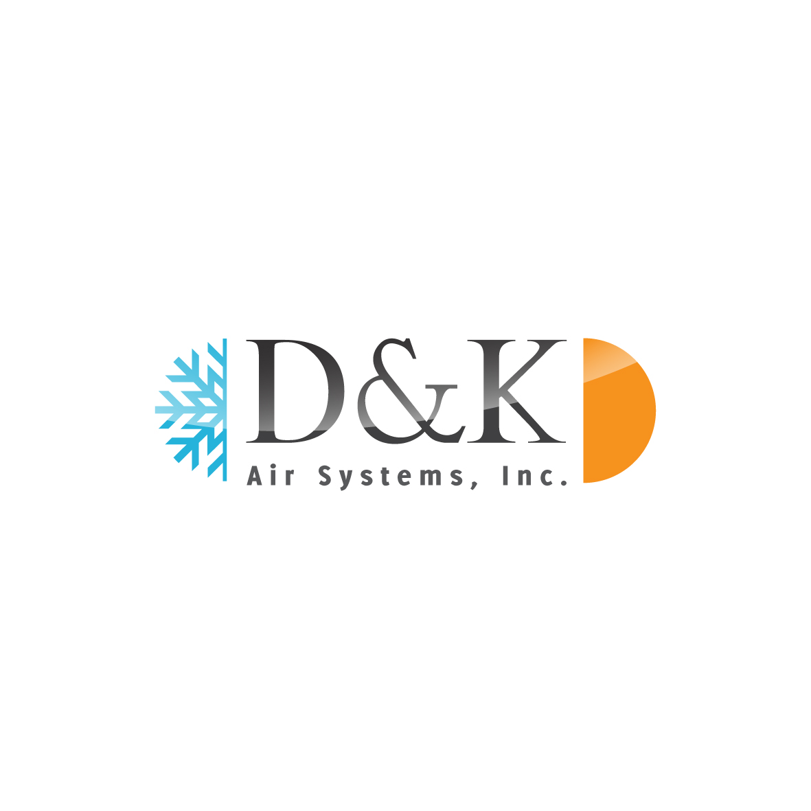 Logo Design by ex - Entry No. 15 in the Logo Design Contest D&K Air Systems, Inc..