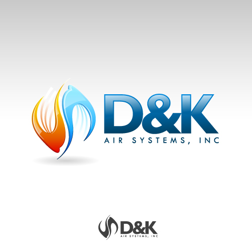 Logo Design by SilverEagle - Entry No. 16 in the Logo Design Contest D&K Air Systems, Inc..