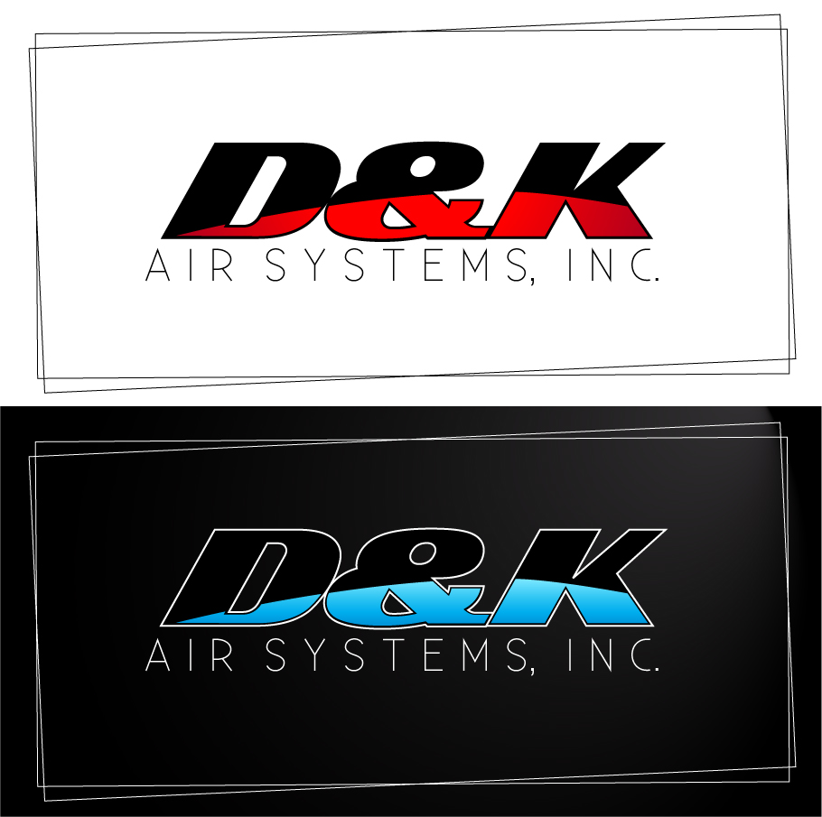 Logo Design by trav - Entry No. 19 in the Logo Design Contest D&K Air Systems, Inc..
