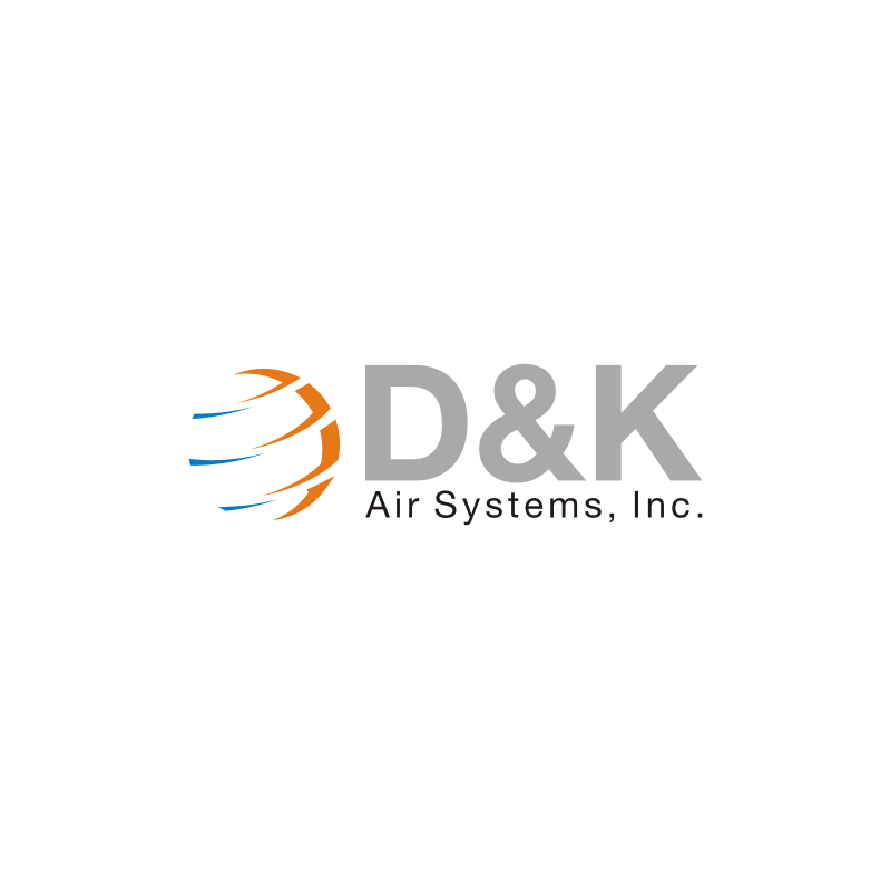 Logo Design by Lukman  Munastan - Entry No. 21 in the Logo Design Contest D&K Air Systems, Inc..