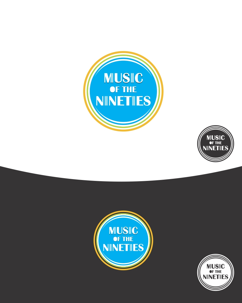 Logo Design by Private User - Entry No. 4 in the Logo Design Contest Music of the Nineties Logo.