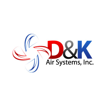 Logo Design by aidar - Entry No. 28 in the Logo Design Contest D&K Air Systems, Inc..