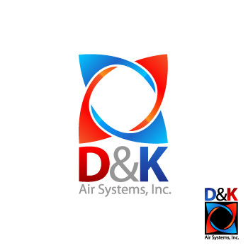Logo Design by aidar - Entry No. 29 in the Logo Design Contest D&K Air Systems, Inc..