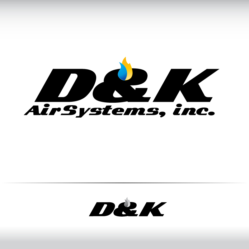 Logo Design by trav - Entry No. 34 in the Logo Design Contest D&K Air Systems, Inc..