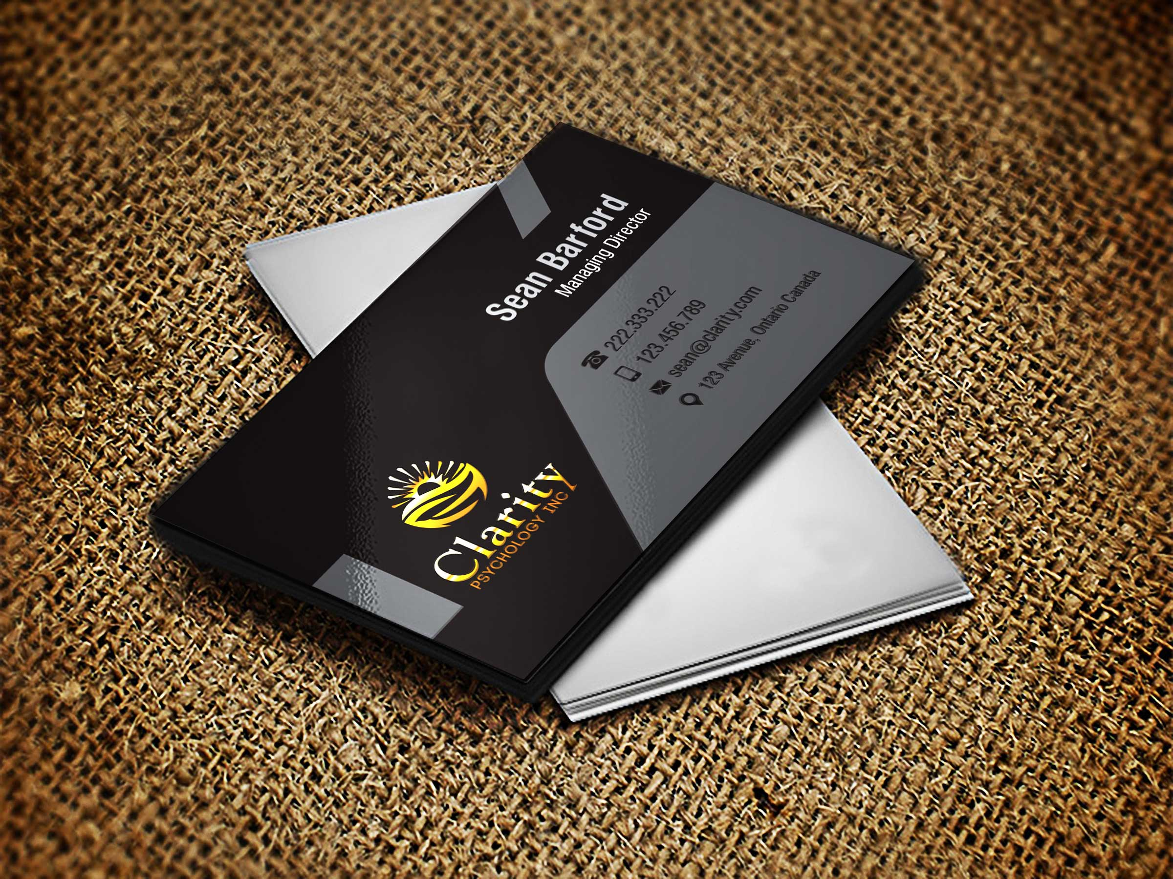 Business card design contests professional business card design business card design by lagalag entry no 6 in the business card design contest colourmoves Image collections