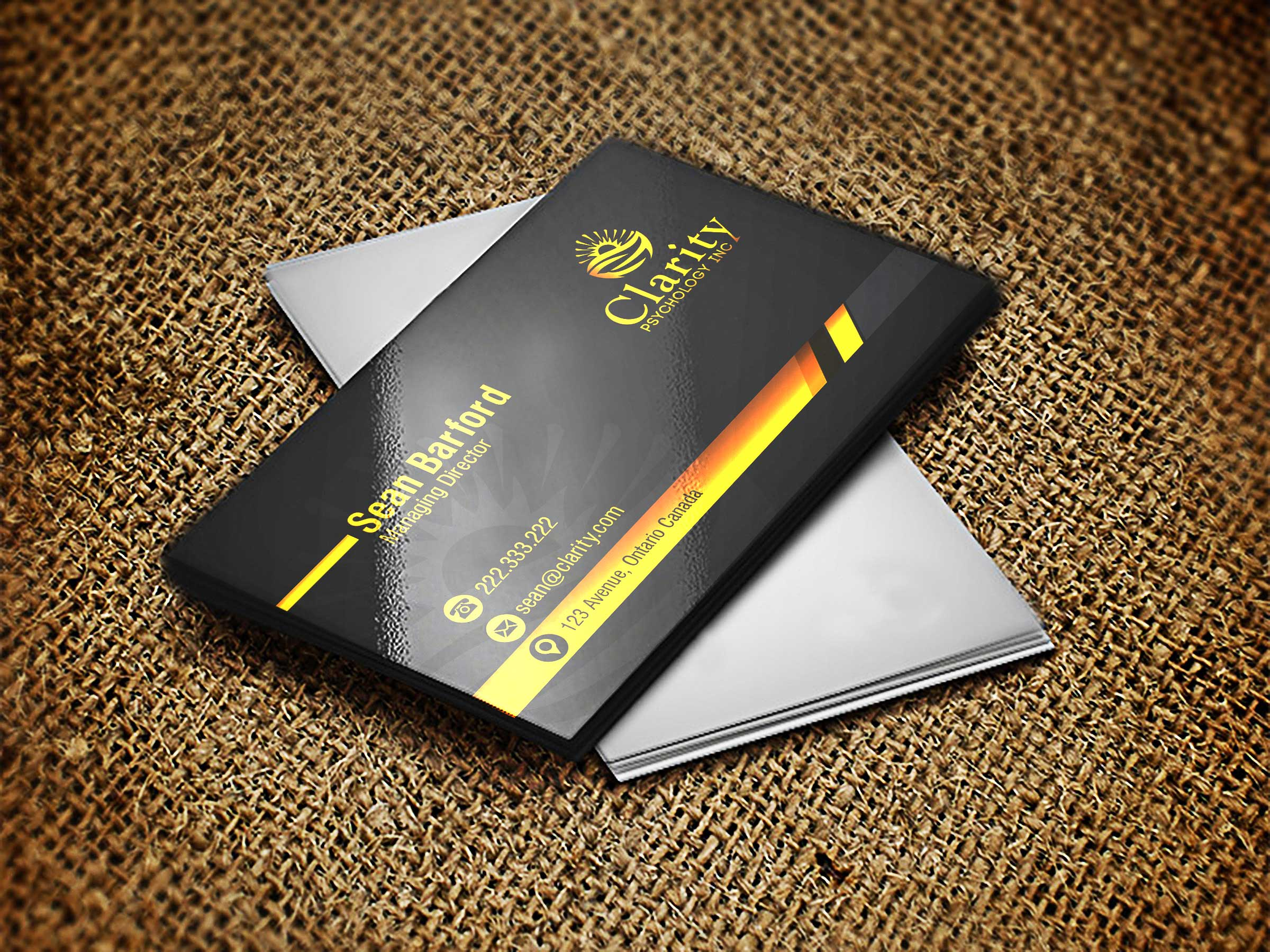 Business card design contests professional business card design business card design by lagalag entry no 7 in the business card design contest colourmoves