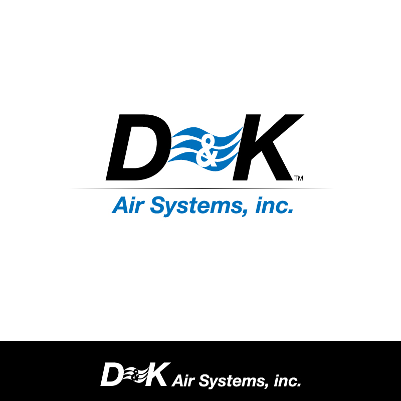 Logo Design by trav - Entry No. 40 in the Logo Design Contest D&K Air Systems, Inc..
