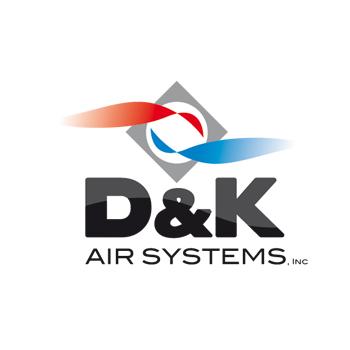 Logo Design by DINOO45 - Entry No. 43 in the Logo Design Contest D&K Air Systems, Inc..