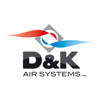 Logo Design by DINOO45 - Entry No. 44 in the Logo Design Contest D&K Air Systems, Inc..