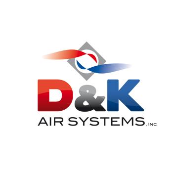 Logo Design by DINOO45 - Entry No. 46 in the Logo Design Contest D&K Air Systems, Inc..