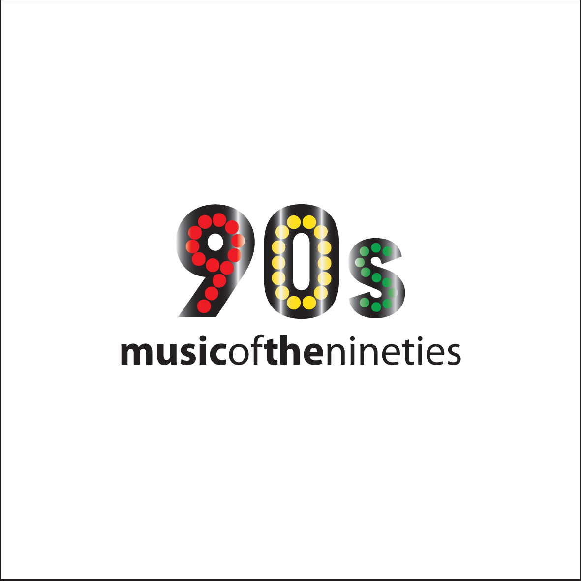 Logo Design by ex - Entry No. 6 in the Logo Design Contest Music of the Nineties Logo.
