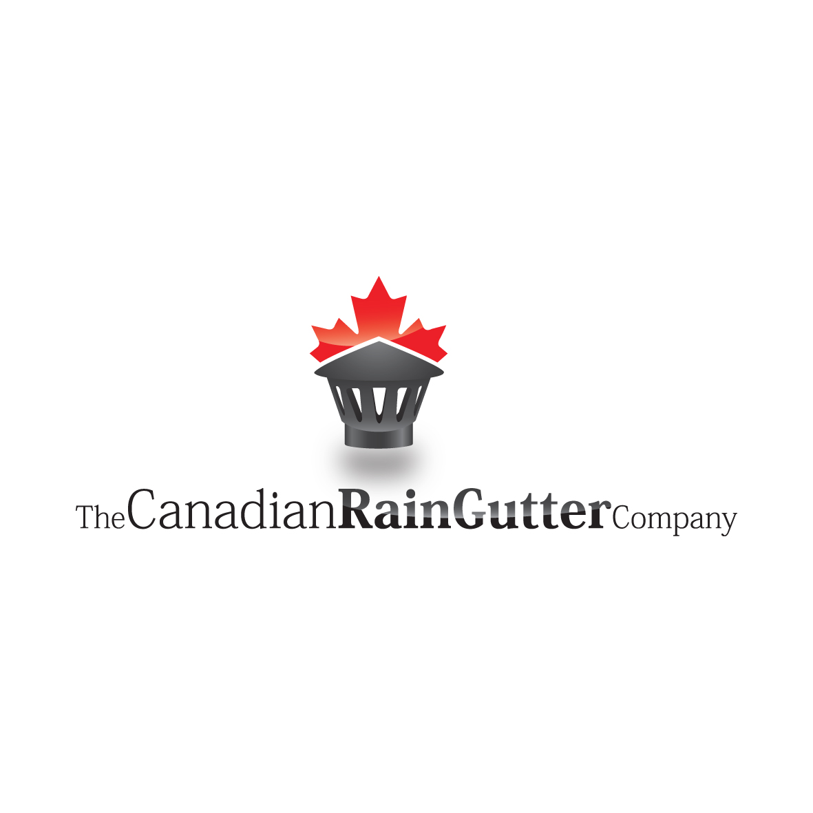 Logo Design by ex - Entry No. 2 in the Logo Design Contest The Canadian Rain Gutter Company.