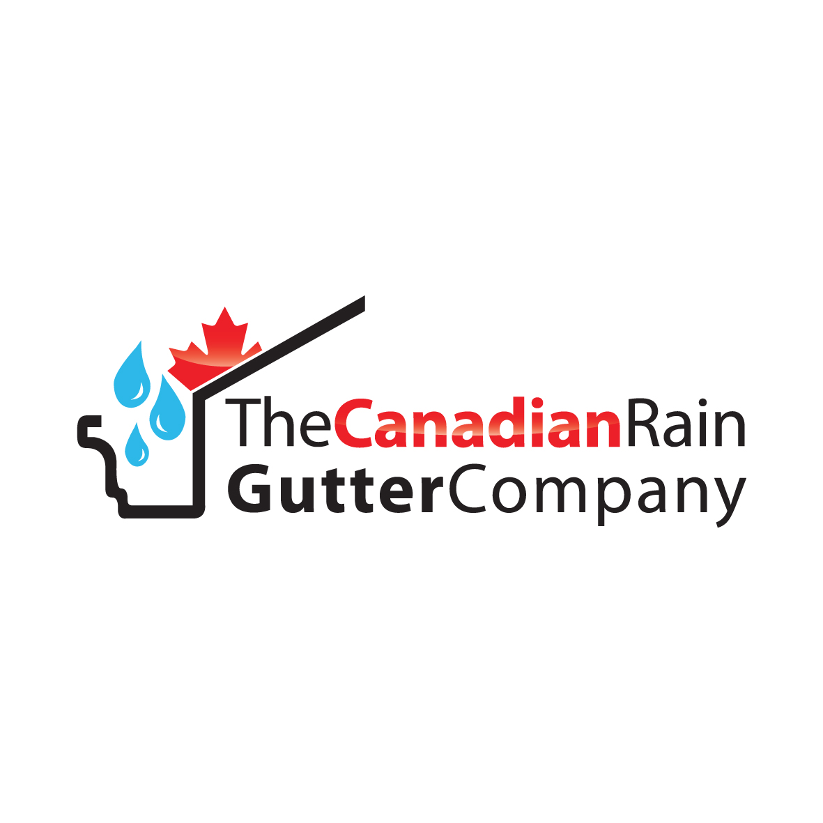 Logo Design by ex - Entry No. 3 in the Logo Design Contest The Canadian Rain Gutter Company.