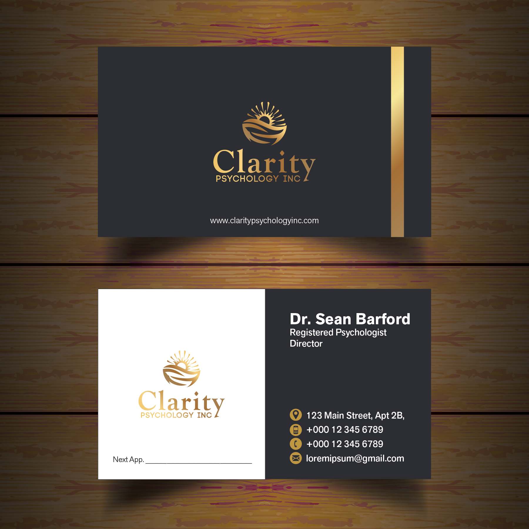 Modern Business Cards For Psychologists Photos Business Card Ideas