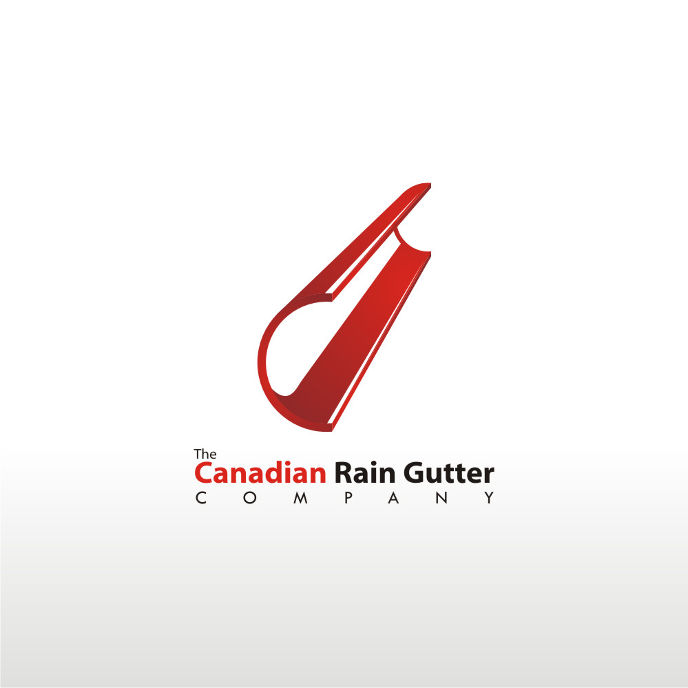 Logo Design by Private User - Entry No. 5 in the Logo Design Contest The Canadian Rain Gutter Company.