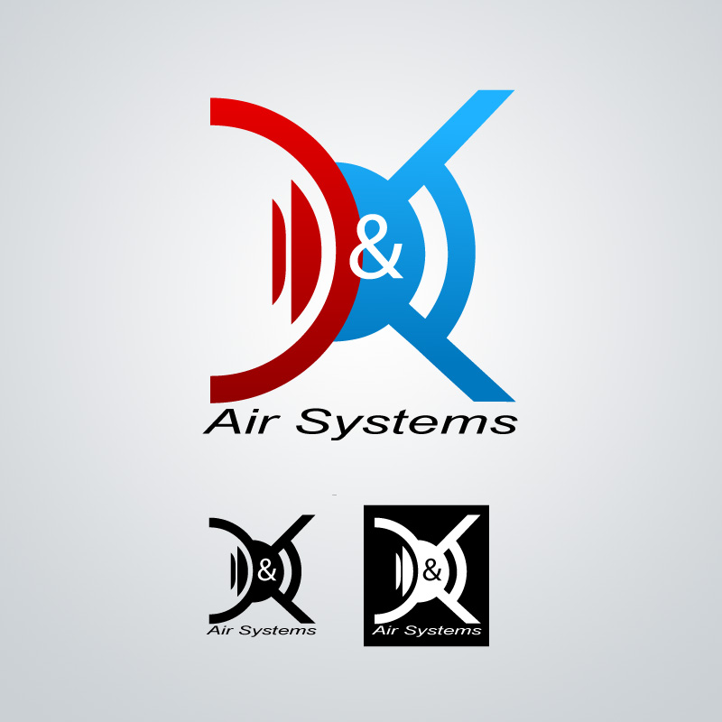 Logo Design by reachtvrajesh - Entry No. 56 in the Logo Design Contest D&K Air Systems, Inc..