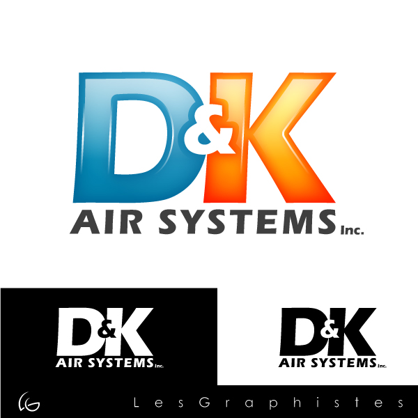 Logo Design by Les-Graphistes - Entry No. 62 in the Logo Design Contest D&K Air Systems, Inc..