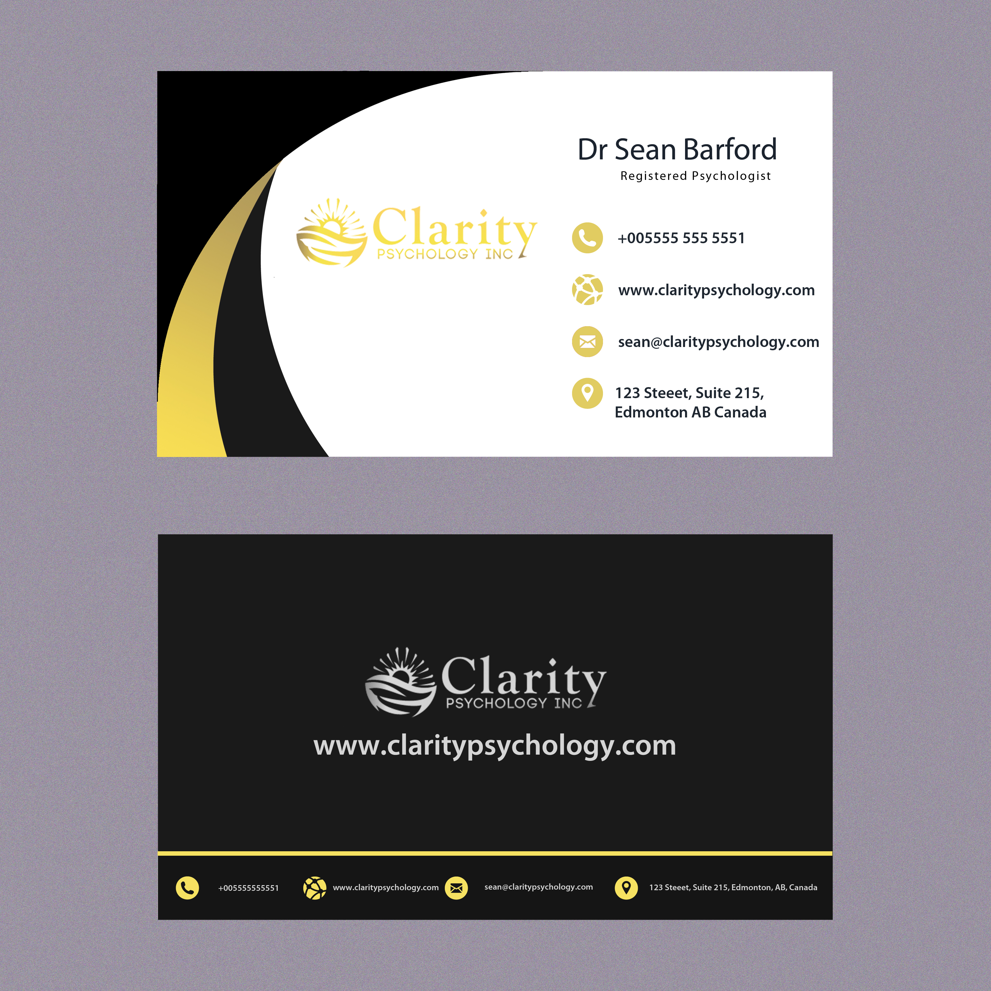 Business Cards Edmonton Ab Images - Card Design And Card Template