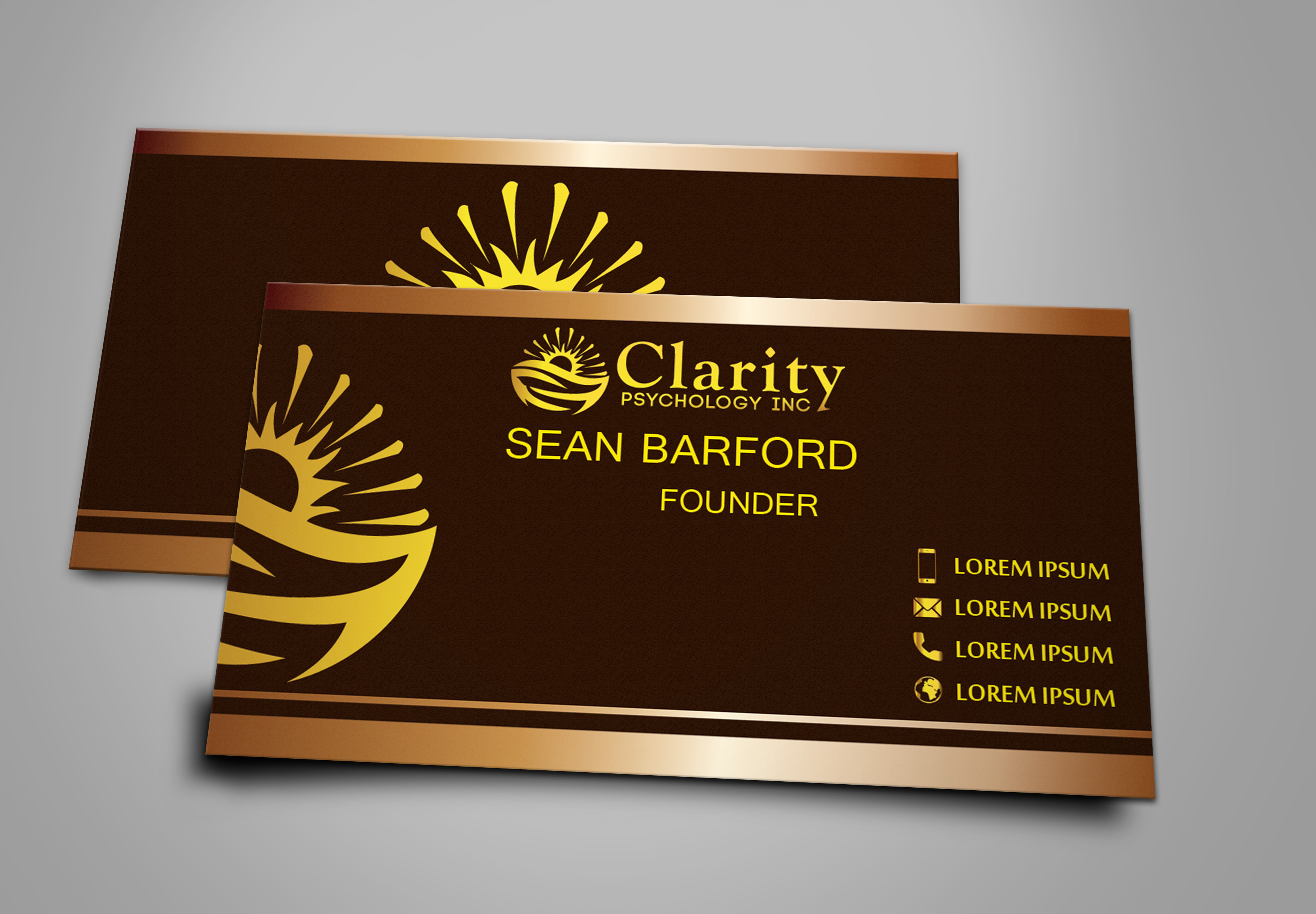 business card design contests professional business card design