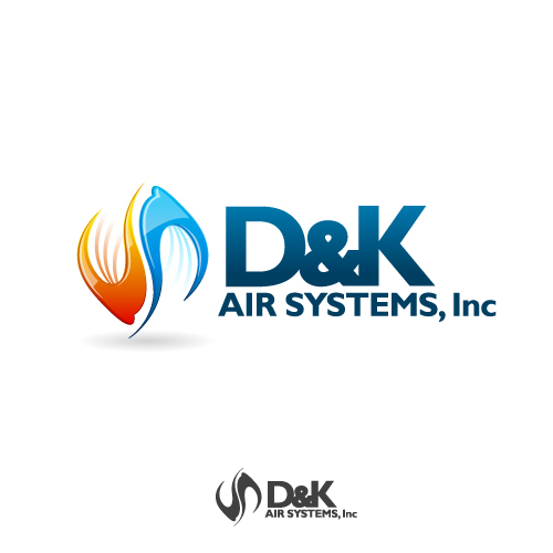 Logo Design by SilverEagle - Entry No. 69 in the Logo Design Contest D&K Air Systems, Inc..