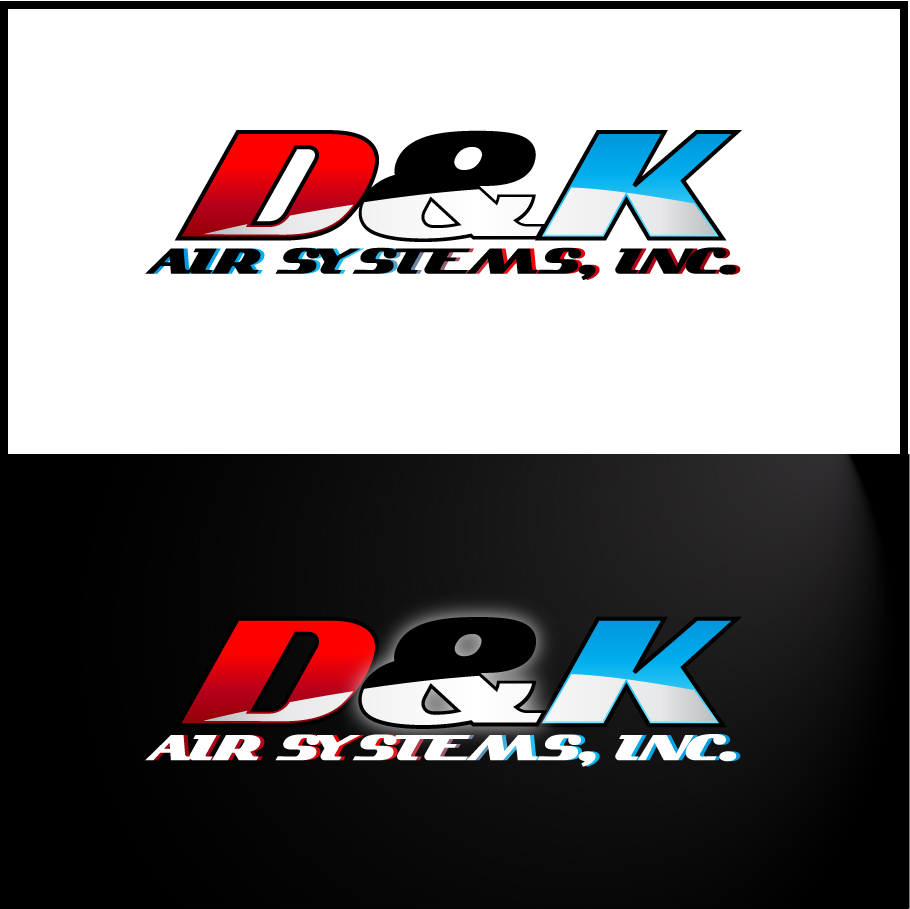 Logo Design by trav - Entry No. 78 in the Logo Design Contest D&K Air Systems, Inc..